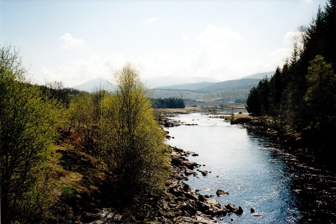 Looking East down River Garry